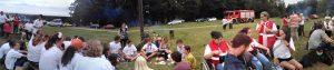Een gezellige BBQ in het bos brengt ons in WJD stemming