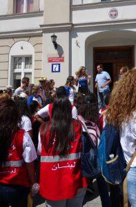 Er zijn in Prudnik ook Libanese WJD-ers