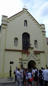 Het heiligdom van St Jozef in Prudnik