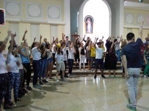 Dansen op Poolse gospel
