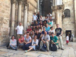 Het bisdom organiseerde een jongerenreis naar Israël