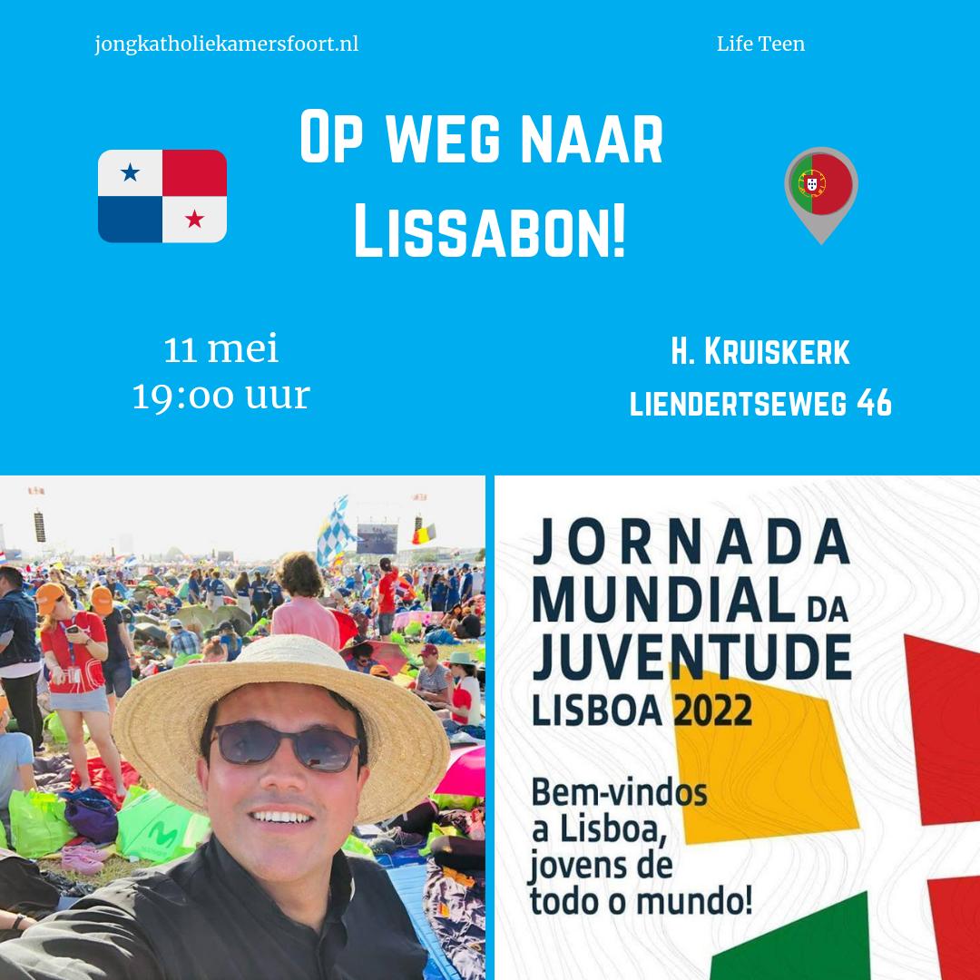 Op 11 mei vertelt pastor Mauricio over zijn ervaringen op de WJD in Panama en kijken we vooruit naar de WJD in Lissabon.